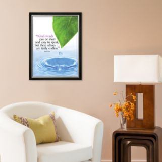 Art.com Kind Words Framed Art Print