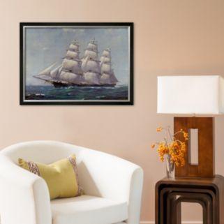 Art.com McKay Racer, Sovereign of the Seas Framed Art Print by Frank Vining Smith