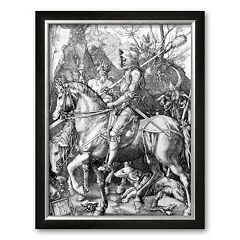 Art.com 'The Knight, Death and The Devil , c.1514' Framed Art Print by Albrecht Durer