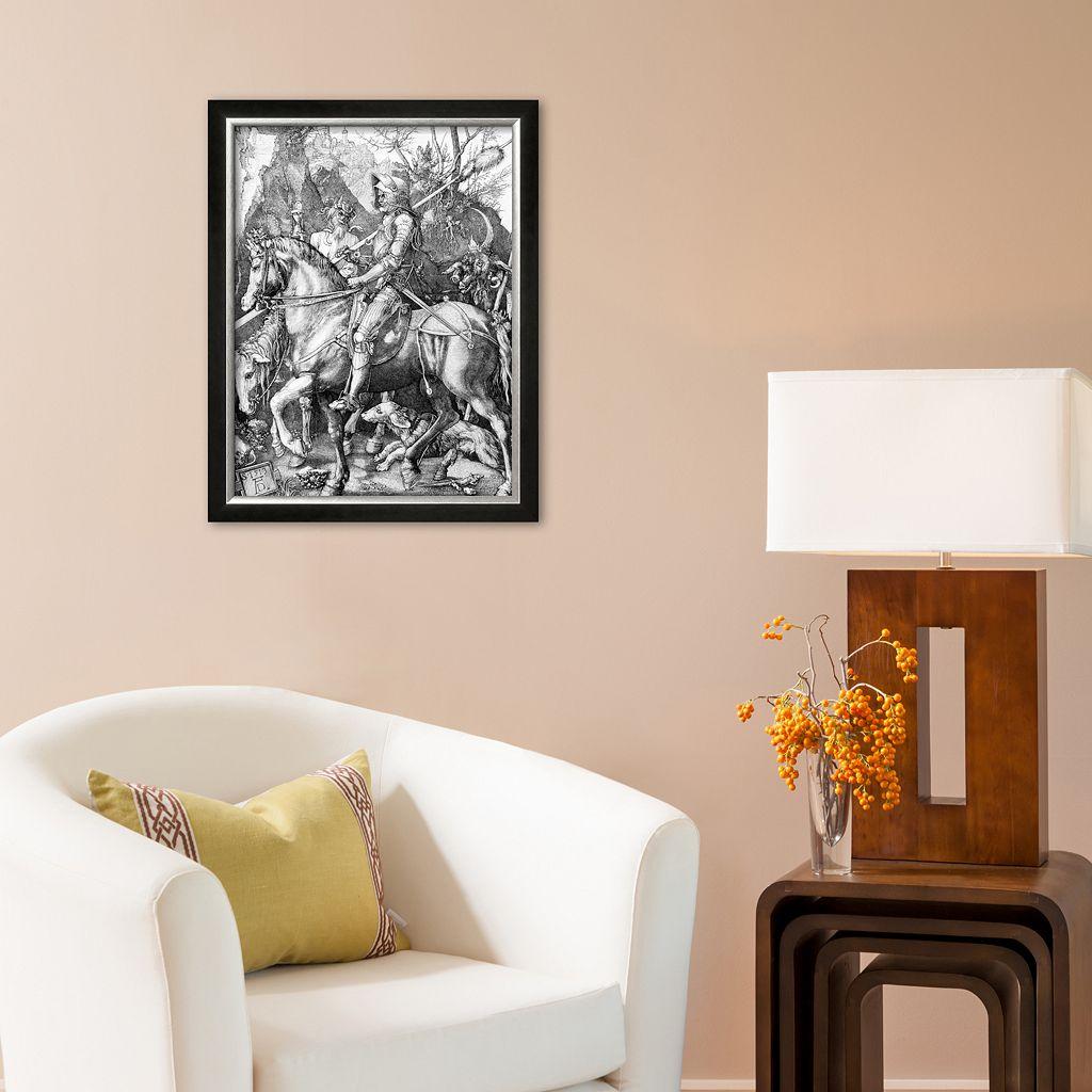 Art.com The Knight, Death and The Devil , c.1514 Framed Art Print by Albrecht Dürer