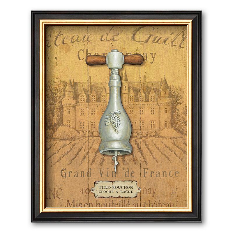 Art.com Antique Corkscrew IV Framed Art Print by Daphne Brissonnet, Multicolor
