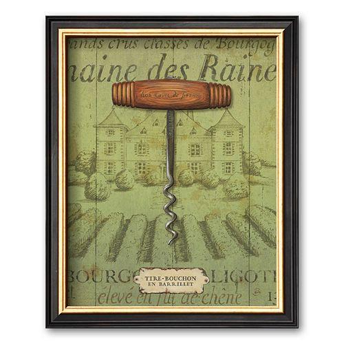 Art.com Antique Corkscrew I Framed Art Print by Daphne Brissonnet