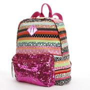 Candie's Multistriped Sequin Backpack