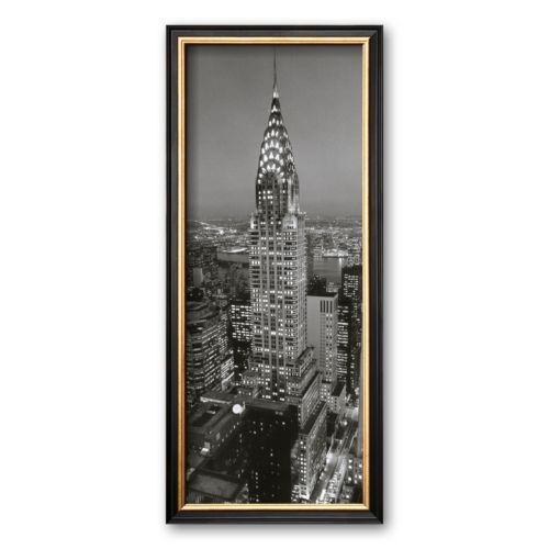 Art.com Chrysler Building Framed Art Print by Henri Silberman