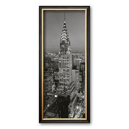 Art.com Chrysler Building Framed Art Print by Henri Silberman