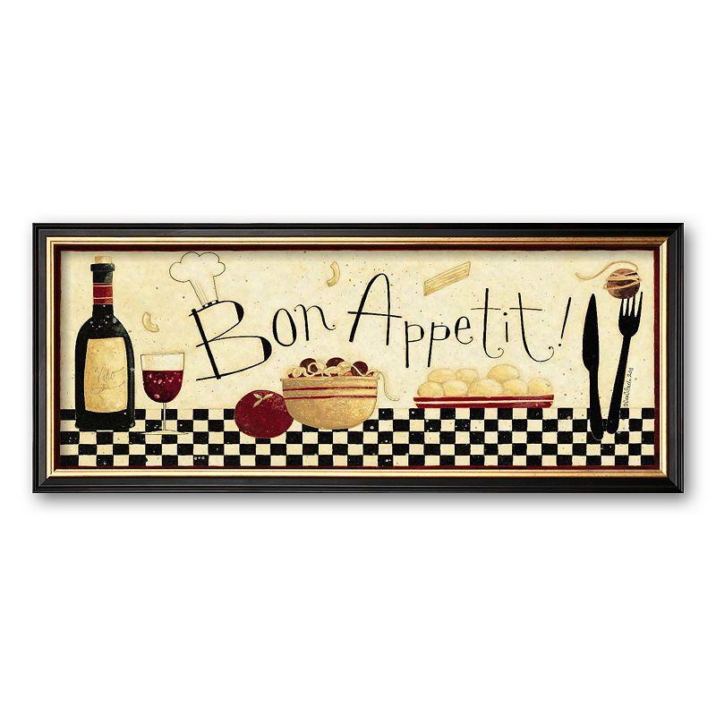 Art.com Bon Appetit Framed Art Print By Dan Dipaolo