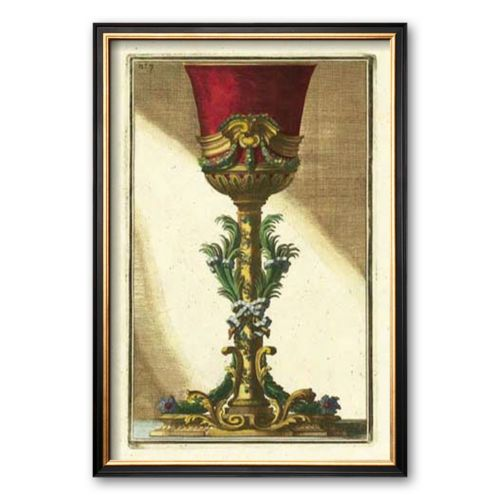 Art.com Red Goblet II Framed Art Print by Giovanni Giardini