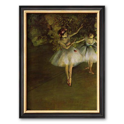 Art.com Two Dancers Framed Art Print by Edgar Degas
