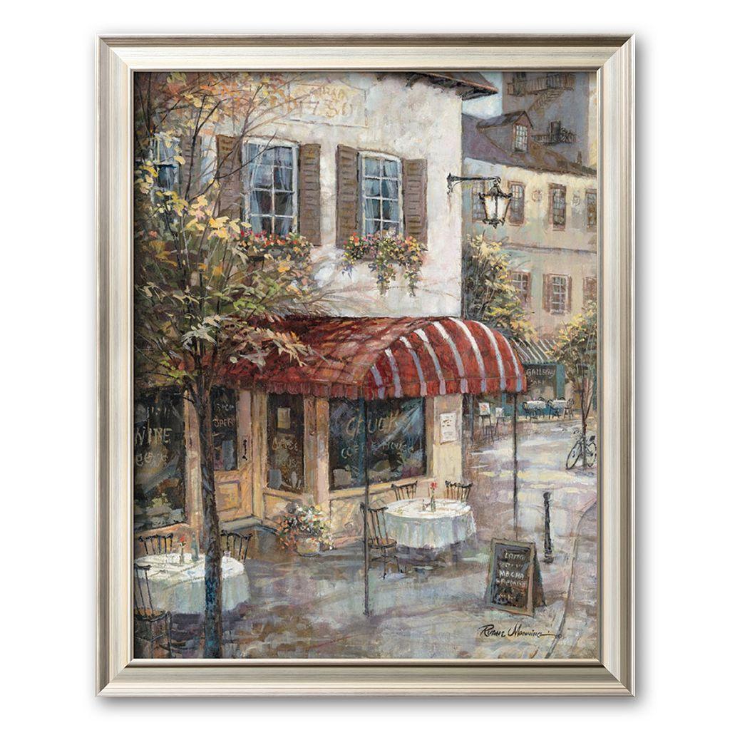 Art.com ''Coffee House Ambiance'' Framed Art Print by Ruane Manning