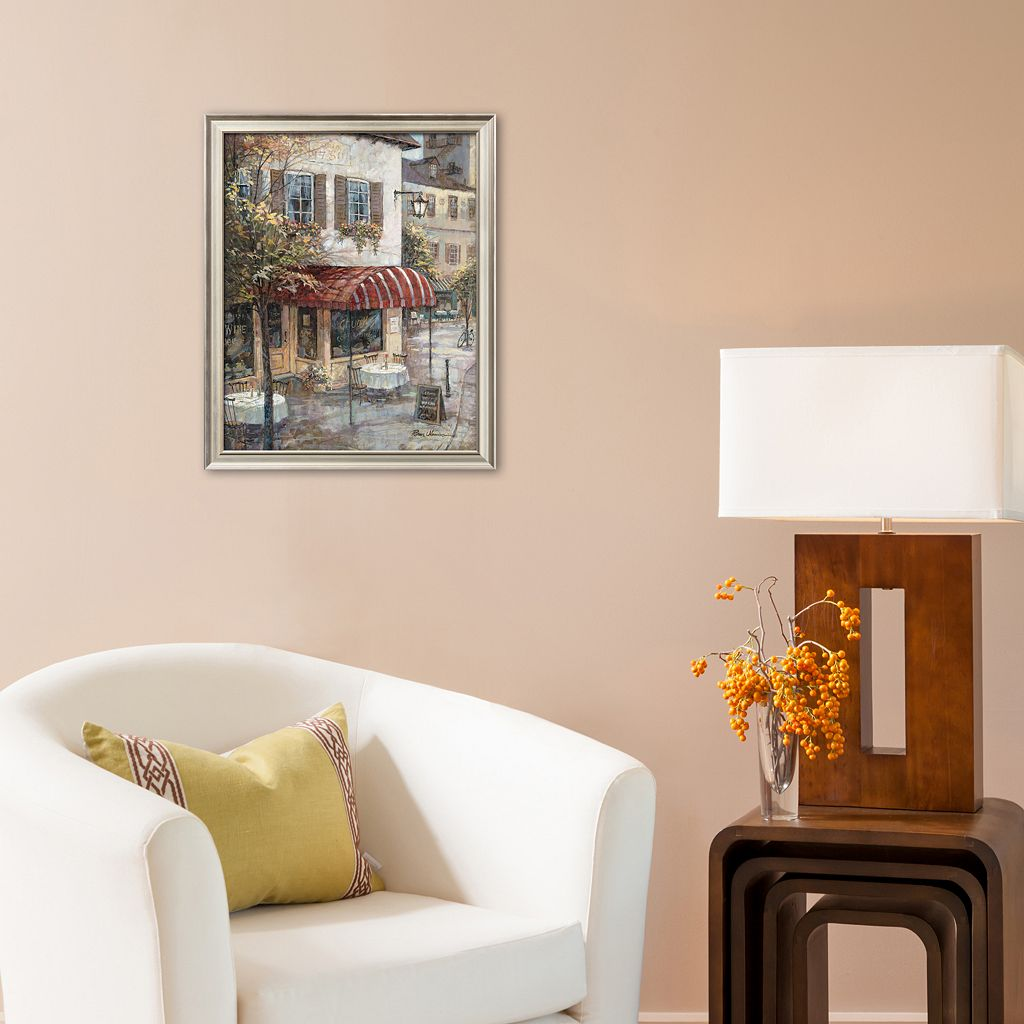 Art.com Coffee House Ambiance Framed Art Print by Ruane Manning