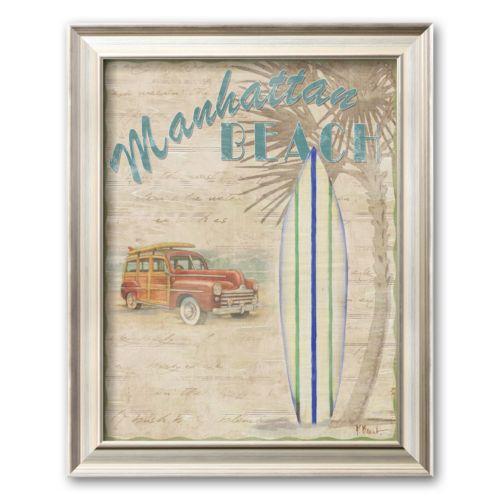 Art.com Surf City II Framed Ar...
