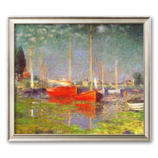 Art.com Argenteuil Framed Art Print by Claude Monet