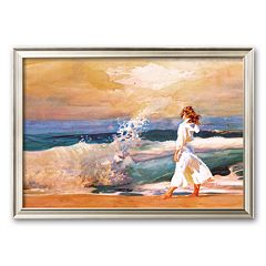 Art.com 'Butterfly Beach' Framed Art Print by Richard Yaco