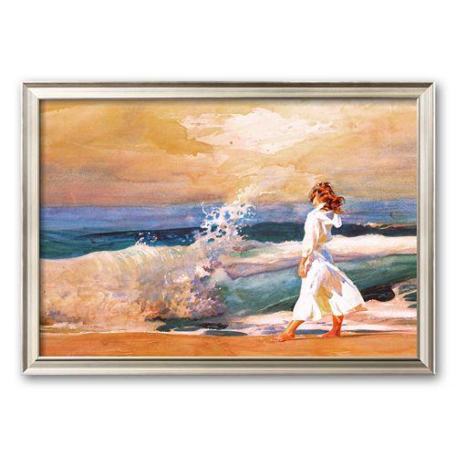 "Art.com ""Butterfly Beach"" Framed Art Print by Richard Yaco"