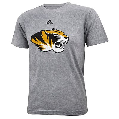 adidas Missouri Tigers Primary Logo Tee - Boys 8-20
