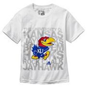 adidas Kansas Jayhawks Go-To Tee - Boys 8-20