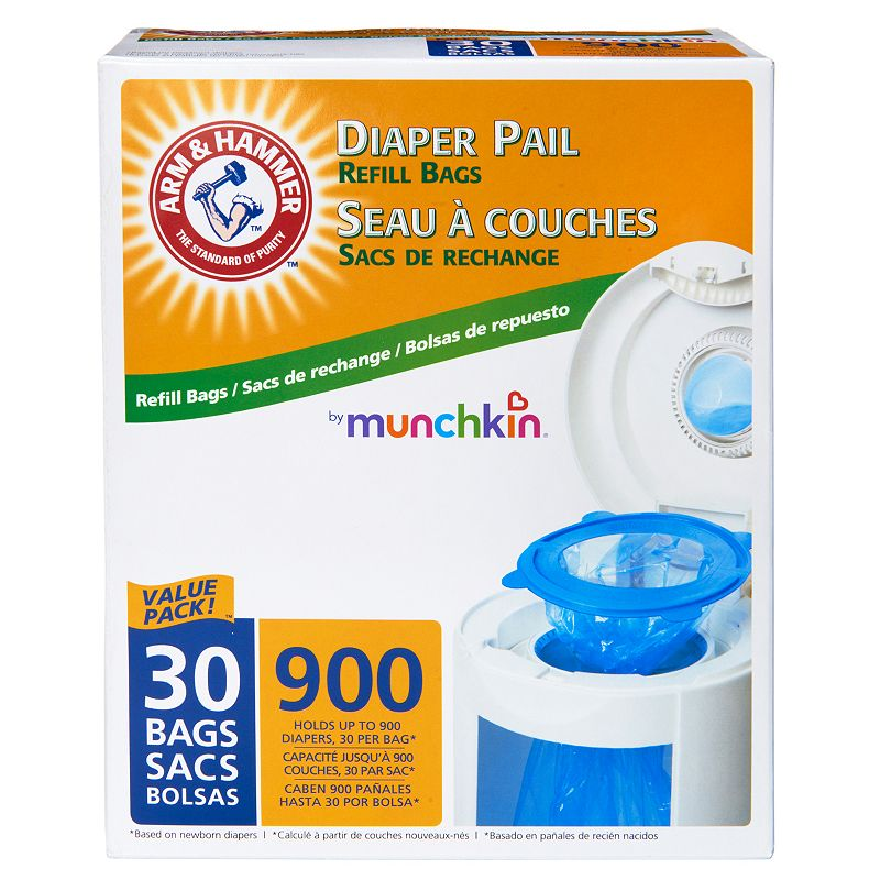 Arm and Hammer 30-pk. Diaper Pail Refill Bags by Munchkin