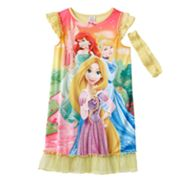 Disney Princess Ruffled Nightgown - Girls