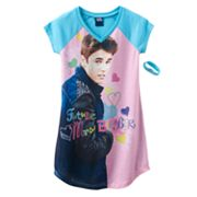 Justin Bieber Future Mrs. Bieber Nightgown - Girls
