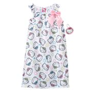 Hello Kitty Ruffle Nightgown - Girls