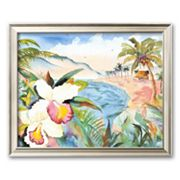 Art.com Hawaiian Orchids Framed Art Print by Terry Madden