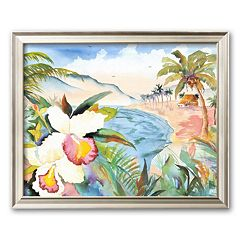 Art.com 'Hawaiian Orchids' Framed Art Print by Terry Madden