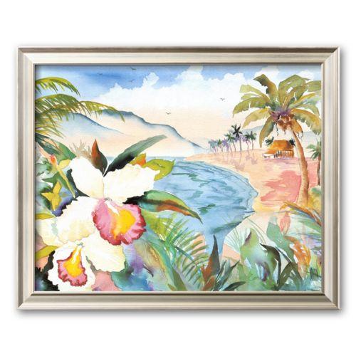 Art.com Hawaiian Orchids Framed Art Print by Terry Madden