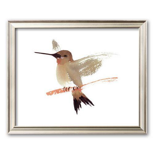 "Art.com ""Hummingbird"" Framed Art Print by Aurore De La Morinerie"