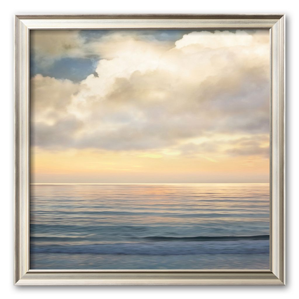 Art.com ''Ocean Light I'' Framed Art Print by John Seba