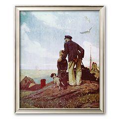 Art.com ''Outward Bound'' Framed Art Print by Norman Rockwell