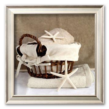 Art.com ''Panier aux Etoiles'' Framed Art Print by Amelie Vuillon