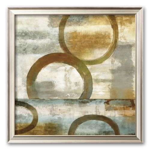 Art.com Round and Round II Framed Art Print by Brent Nelson
