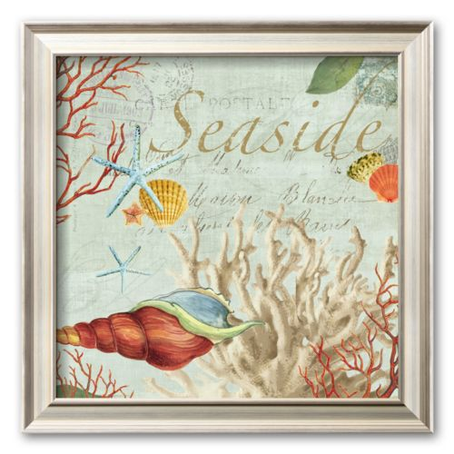 Art.com Seaside  Framed Art Print by Aimee Wilson