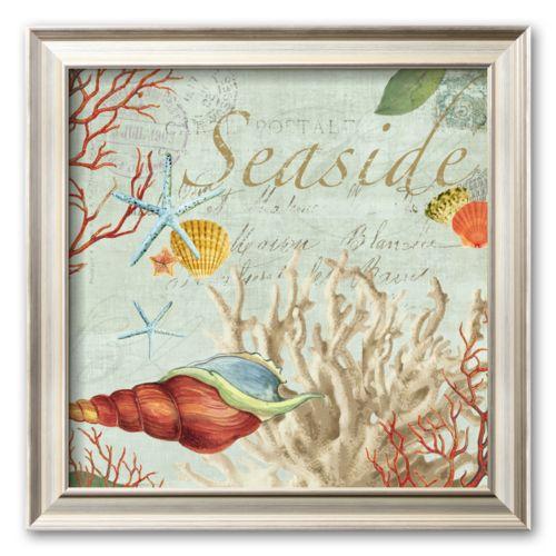 Art.com Seaside  Framed Art Print by Aimee Wilson