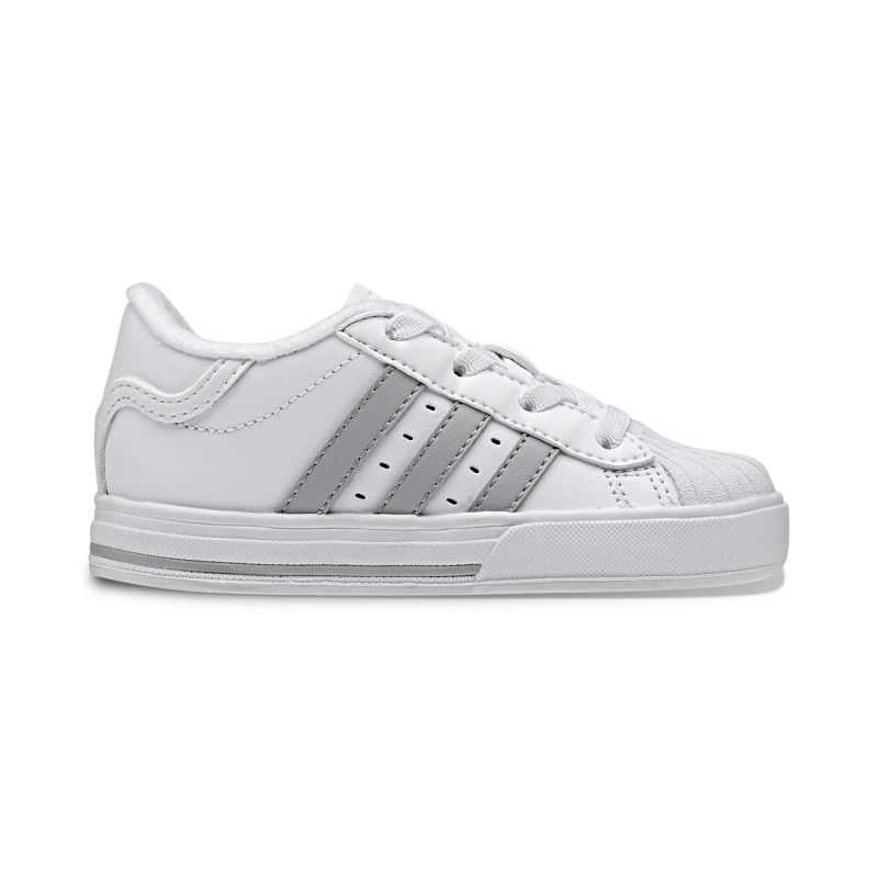 adidas white bbneo classic athletic shoes boys