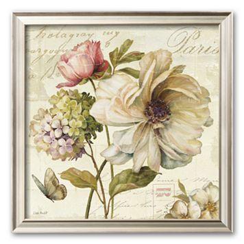 Art.com ''Marche de Fleurs II'' Framed Art Print