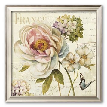 Art.com ''Marche de Fleurs III'' Medium Framed Art Print by Lisa Audit