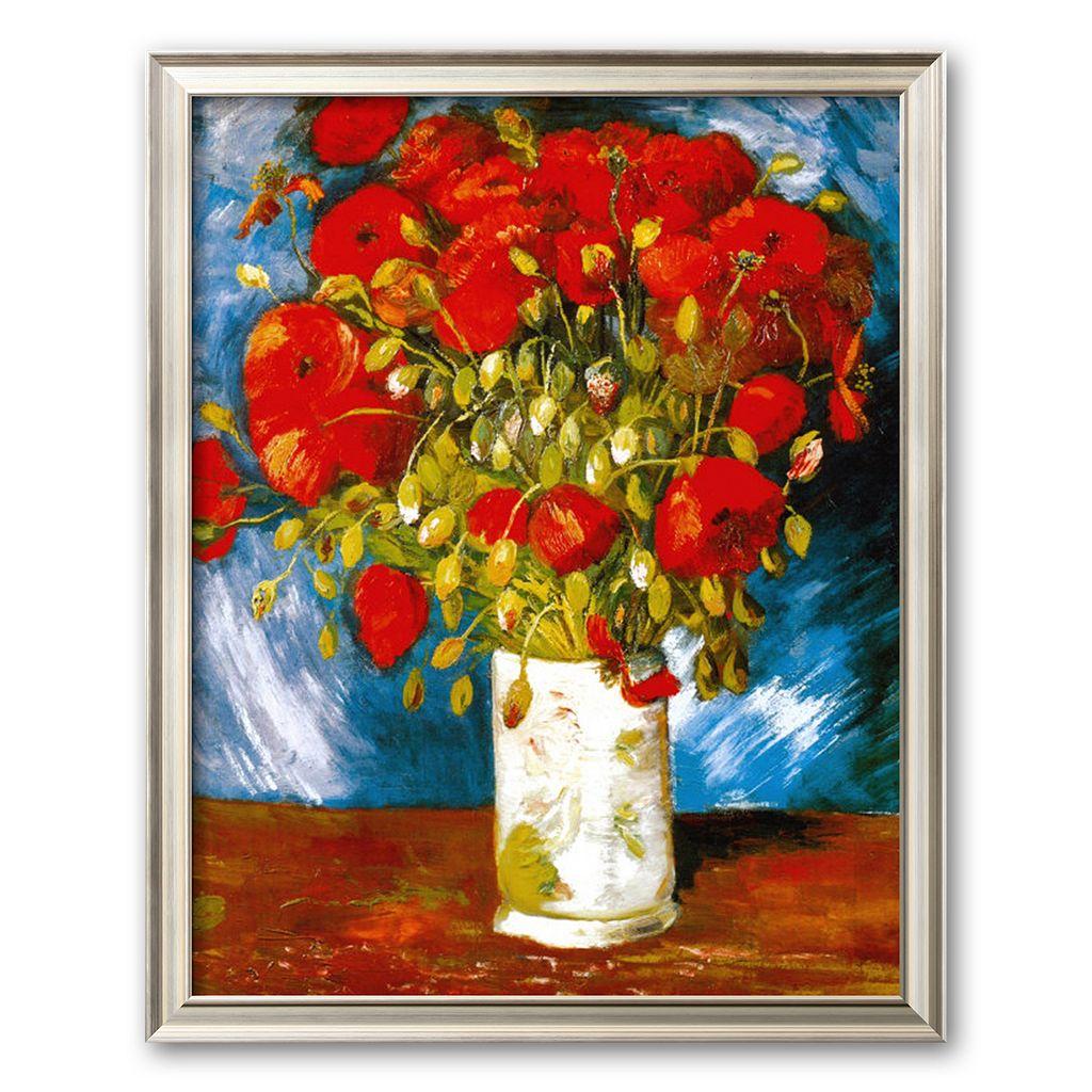 Art.com Poppies, c. 1886 Framed Art Print by Vincent van Gogh
