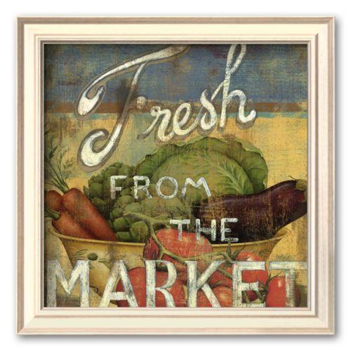 Art.com From the Market IV Framed Art Print by Daphne Brissonnet