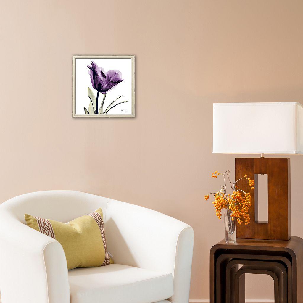 Art.com Royal Purple Parrot Tulip Framed Art Print by Albert Koetsier