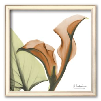 Art.com A Gift of Calla Lilies in Orange Framed Art Print by Albert Koetsier