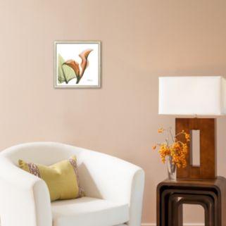 Art.com A Gift of Calla Lilies in Orange Framed Art Print by Albert Koetsier