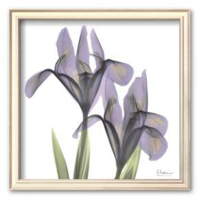 Art.com A Gift of Flowers in Purple Framed Art Print by Albert Koetsier