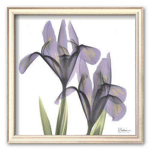Art.com ''A Gift of Flowers in Purple'' Framed Art Print by Albert Koetsier