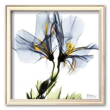 Art.com ''Blue Azalea in Bloom'' Framed Art Print by Albert Koetsier