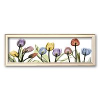 Art.com ''Colorful Tulip Scape'' Framed Art Print by Albert Koetsier