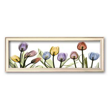 Art.com ''Colorful Tulip Scape'' Framed Art Print by Albert Koetsier