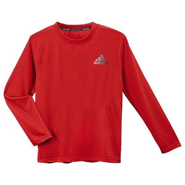Boys 8-20 adidas ClimaLite Long-Sleeve Tee