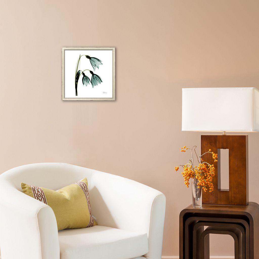 Art.com Three Tulips in Green Framed Art Print by Albert Koetsier