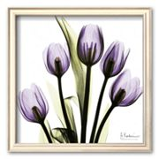 Art.com 'Tulip in Purple' Square Framed Art Print by Albert Koetsier